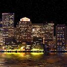 Boston City Scape by Jack DiMaio