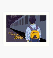 We Had Found The Stars Art Print