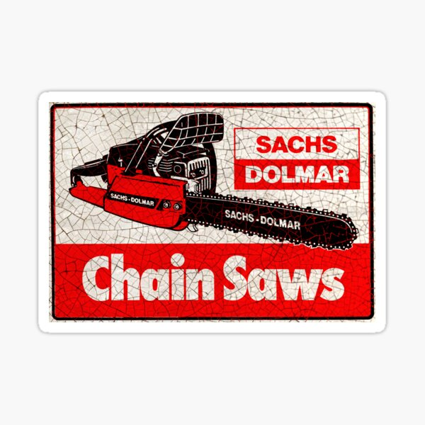 Sachs Dolmar Scies à chaîne Sticker