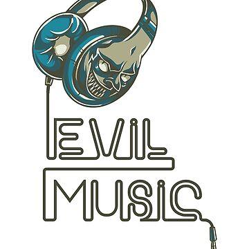 Shirts Evil Music by albertosm