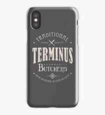 Terminus Butchers (light) iPhone Case