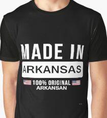 Made In Arkansas 100 Percent Arkansan - Gift For Arkansan Graphic T-Shirt