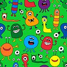 Monsters by Pamela Maxwell