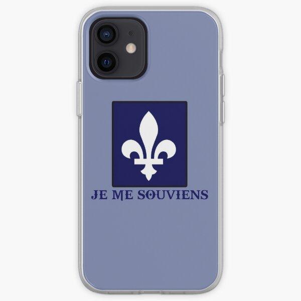 Coque iPhone « québec canada je me souviens montréal », par ...