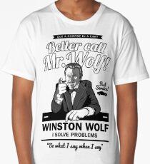 Better call Mr. Wolf Long T-Shirt