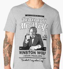Better call Mr. Wolf Men's Premium T-Shirt