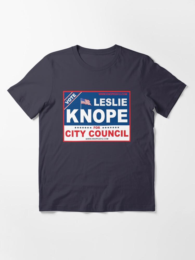 Alternate view of Vote Leslie Knope 2012 Essential T-Shirt