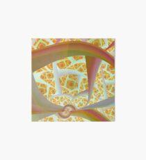 Pastel Abstract Art Board