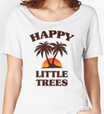 Bob Ross - Happy Little Trees Women's Relaxed Fit T-Shirt