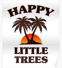Bob Ross - Happy Little Trees Poster