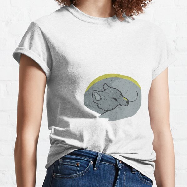 Arctic Fox Sleeping Classic T-Shirt