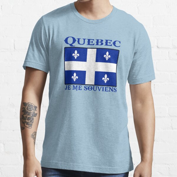 quebec  canada je me souviens  montreal Essential T-Shirt