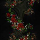 Floral Dragon by bloorose
