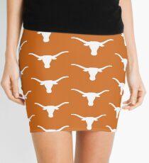 Texas Longhorns - Orange Mini Skirt
