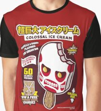 Colossal Ice Cream Graphic T-Shirt