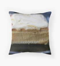 Vanilla Slice Throw Pillow