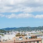 The Rooftops Of Ibiza 1 by Steve Purnell