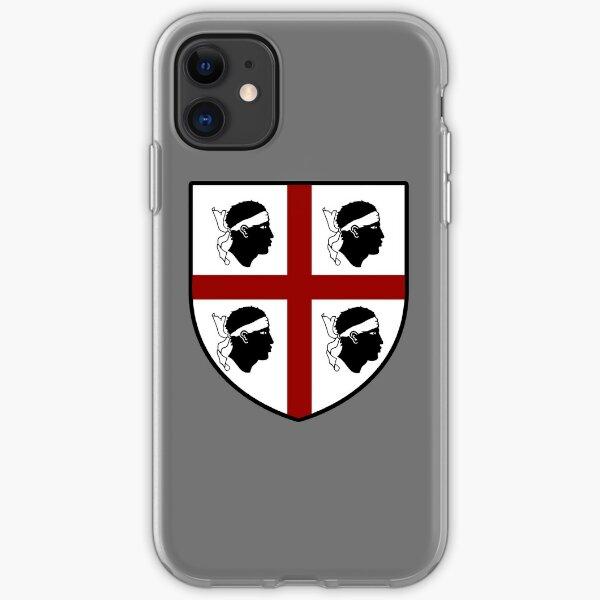 4 Mori - La bandiera sarda con nuraghi Custodia per iPhone 7 / 8