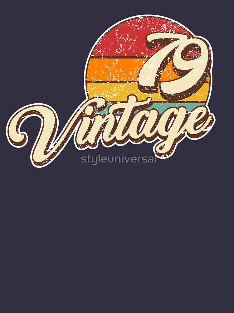 Vintage 1979 by styleuniversal