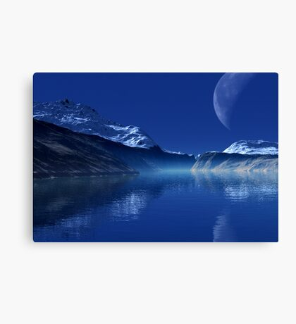 Sirentiss Inlet Canvas Print