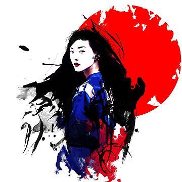 Geisha Japan by vivalarevolucio