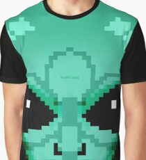 8-Bit Alien  Graphic T-Shirt