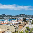 The Rooftops Of Ibiza 3 by Steve Purnell