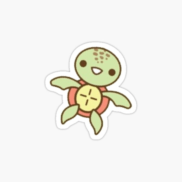 tiny turtle Sticker