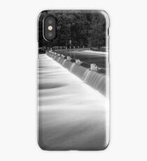 Audley Weir in flood iPhone Case/Skin