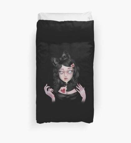Lolly Zombie | Coffee. . . Brains. . . or Tea? Duvet Cover