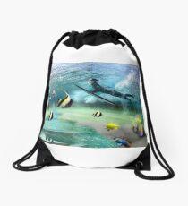 Duck Dive Drawstring Bag