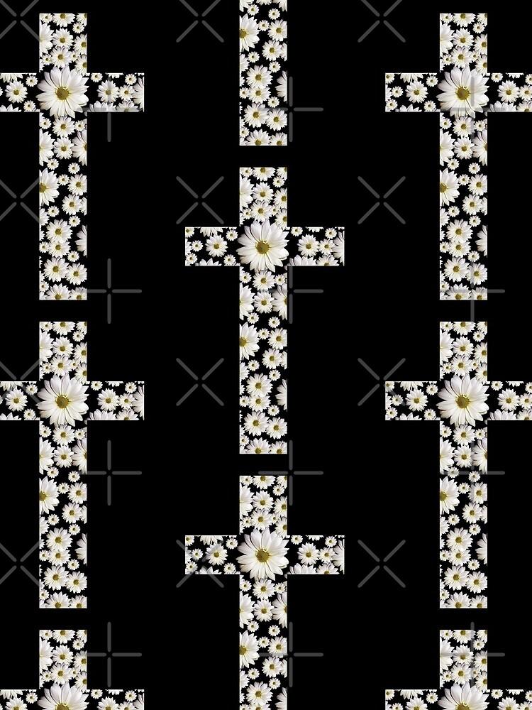 Gänseblümchen-Kreuz von StudioBlack