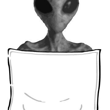 Alien in my Pocket! by mad-monkey