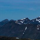 (half) Moon and Stob Coire nan Lochan, Glencoe, Lochaber, Scotland by Stravaigin