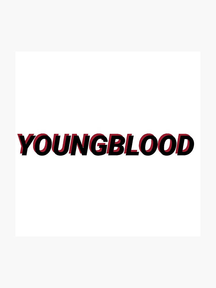 5sos youngblood layered | Photographic Print