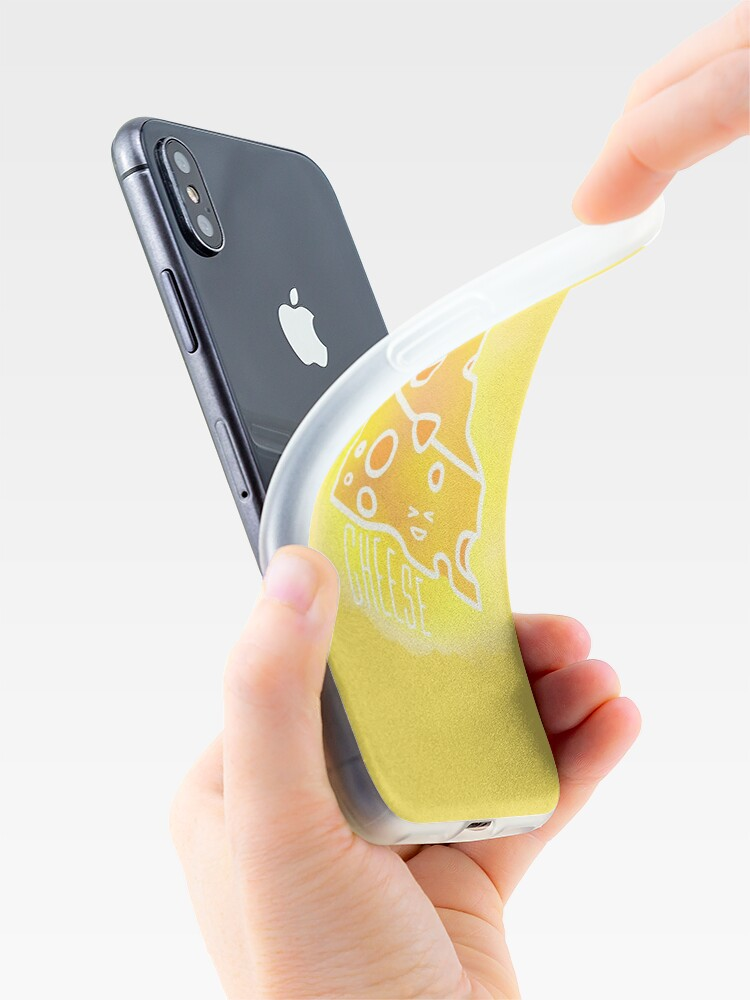 Alternate view of Say cheese iPhone Case & Cover