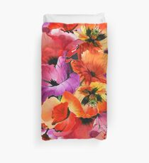 Poppies for Fun Duvet Cover