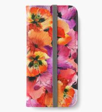 Poppies for Fun iPhone Wallet/Case/Skin