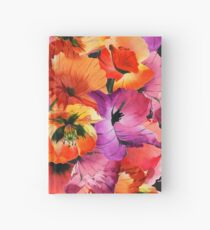 Poppies for Fun Hardcover Journal