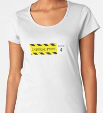 Chemical Store – Seabase 4 Women's Premium T-Shirt