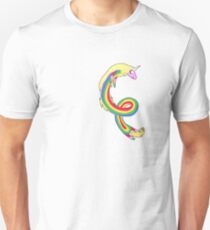 Twirl me Lady Rainicorn T-Shirt