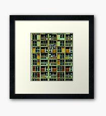 state dependant family Framed Print
