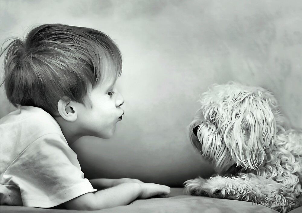 Puppy Kisses by Nicole Goggins