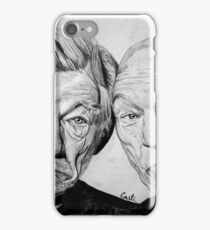 Magneto and X professor iPhone Case/Skin