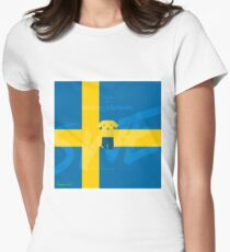 World Cup 2018 Forsberg is Fantastic - Sweden Women's Fitted T-Shirt