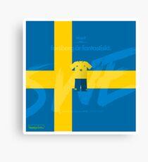 World Cup 2018 Forsberg ar Fantastiskt - Sweden Canvas Print