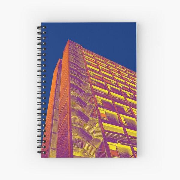 Park Hill Popart Part 3 of 6 Spiral Notebook