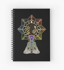 DMT Ayahuasca Theosophy Trance T-Shirt Spiral Notebook