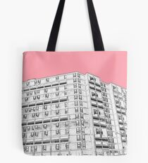 Park Hill Sheffield Pink Tote Bag