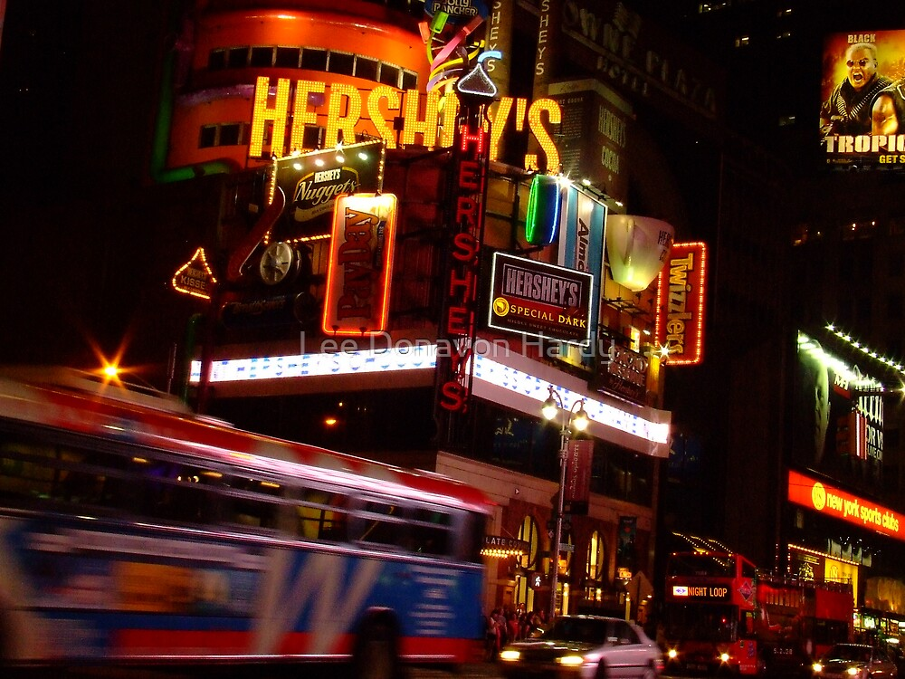 Bright Lights, Big City by Lee Donavon Hardy